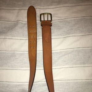 Ralph Lauren Leather Belt. Brown